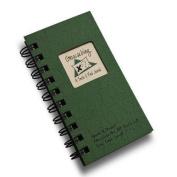 Geocaching, A Seek and Find Journal MINI - Green Hard Cover