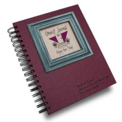 Journals Unlimited, Write it Down Series Guest or Visitors Journal - Cranberry Hard Cover