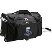 Denco Sports Luggage MLB Kansas City Royals 60cm Rolling Duffel