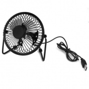 Portable 4 Blade 360 Degree Rotation PC Desktop USB Cooler Cooling Mini Fan