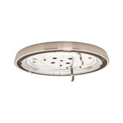 CFL Low Profile Fitter in Brushed Nickel