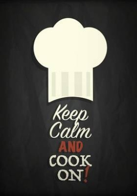 Keep Calm and Cook on: Blank Recipe Book for Your 209 Favorite Recipes