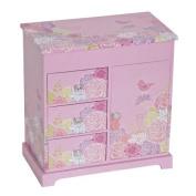 Mele & Co. Pearl Musical Ballerina Jewellery Box