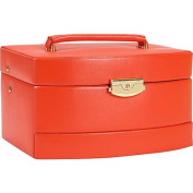 Budd Leather Leather Large Auto Open Jewellery Box