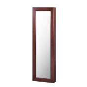 HomePointe Wall Mounted Jewellery Armoire with Mirror