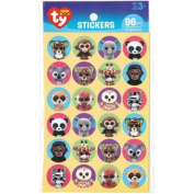 Beanie Boo Paper Stickers 96/Pkg-Jungle