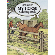 Dover Publications, My Horse Colouring Book