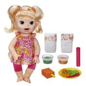 Baby Alive Super Snacks Snackin' Sara Doll, Blonde