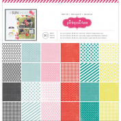 Pink Paislee Paper Pad 30cm x 30cm 180/Pkg-Best Of Pink Paislee