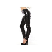 Enticing Kitten Leggings by Allure Leather 16-1022K Black One Size Fits All, One Size Fits All