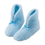 WalterDrake MED Blue Chenille Slippers
