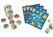 50 Nativity Scene Stickers & 100 HAPPY Birthday JESUS Stickers - CHRISTMAS VBS Religious Activity CRAFTS