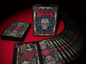 Dia De Los Muertos Playing Cards Deck Black Limited