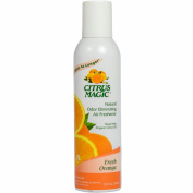 Citrus Magic Natural Odour Eliminating Air Freshener Spray, Fresh Orange, 210ml