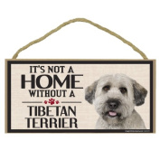 Imagine This Wood Sign for Tibetan Terrier Dog Breeds