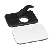 3PCS Black Recurve Bow Adhesive Archery Rest Plastic Arrow Rest Right Hand