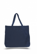 Pack of 6 - Cottom Canvas Jumbo Tote Bag - Size 50cm w X 38cm h X 13cm d