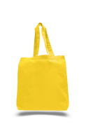 Pack of 6- Economical Tote Bag with Bottom Gusset Bag - Size 38cm w X 41cm h X 7.6cm d