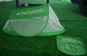Portable baby tent, pop-up baby beach tent, breathable sun tent for babies