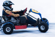 Go Kart Racing on Ice in Finland for Two - Tinggly Voucher / Gift Card in a Gift Box
