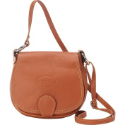 Sharo Leather Bags Soft Italian Leather Saddle Bag