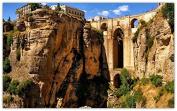 ronda-andalusia-spain-mountains-rocks-aqueduct-bridge Furniture & Decorations magnet fridge magnets