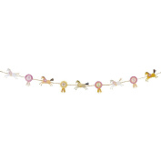 Talking Tables Pony Party 3 Metre Garland, Multicoloured