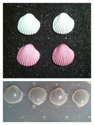 Flexible Resin Mould Set of 4 Sea Shells