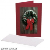 TAP photo 4x6 photo insert card 5pk-Scarlet