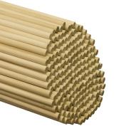 Wooden Dowel Rods 1cm x 90cm - Bag of 25