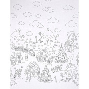 Michael Miller Colour Me Christmas Candy Border Fabric