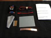 Smart Film Starter Kit 10cm X 7.6cm Electrochromic Film Switchable Glass Eglass Pdlc