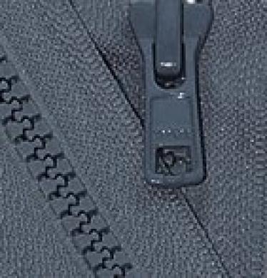 70cm Vislon Zipper ~ YKK #5 Moulded Plastic Sport Zipper ~ Separating - 579 Dark Grey (1 Zipper / Pack)