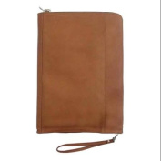 Leather Envelope w Single Divider in Saddle