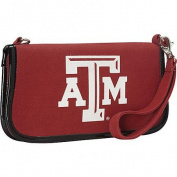 Ashley M Texas A & M University Canvas Clutch Wallet with Strap