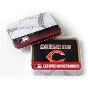 MLB - Men's Cincinnati Reds Embroidered Trifold Wallet