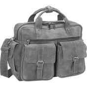 David King & Co. Double Pocket Briefcase