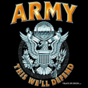 Army T-shirt from Black Ink - XL