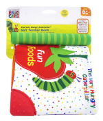 "Eric Carle The Very Hungry Caterpillar ""Fun Foods"" Teether Spine Soft Book"