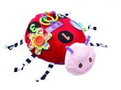 Eric Carle Large Activity Plush, Ladybug
