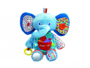 Eric Carle Large Activity Plush, Elephant