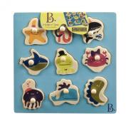 Battat B. Hide N' Sea Puzzle Plank Toy