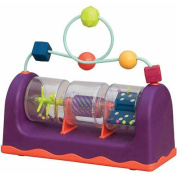 B Baby Spin Rattle and Roll Toy (21.6 x 9.1 x 19.7 cm,  .  - .