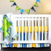 Pam Grace Creations Simply Bold 4-Piece Crib Set