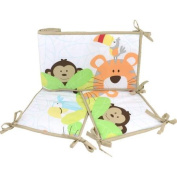 Garanimals Tropical Tree Top Crib Bumper