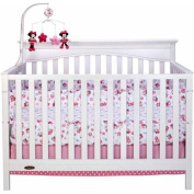 Disney Baby Sweet Minnie Mouse Crib Liner