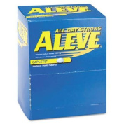 Acme United BXAL50 Pain Reliever Tablets, 50 Packs/box