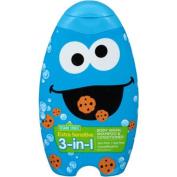 Sesame Street Extra Sensitive 3-in-1 Body Wash, Shampoo & Conditioner, 410ml