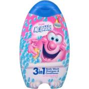 Mr. Bubble Original 3-in-1 Body Wash, Shampoo & Conditioner, 410ml