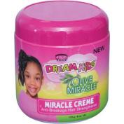 African Pride Dream Kids Olive Miracle Anti-Breakage Hair Strengthener Creme, 180ml